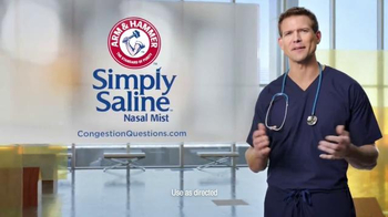 Simply Saline TV Spot, 'Congestion Questions: Tom' - Thumbnail 6