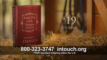 In Touch Ministries TV Spot, 'Every Day in His Presence' - Thumbnail 8
