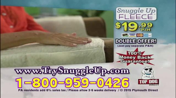 Snuggle Up Fleece TV Spot, 'Comfortable and Baby Soft' - Thumbnail 9