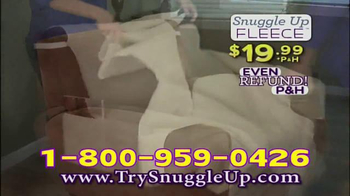 Snuggle Up Fleece TV Spot, 'Comfortable and Baby Soft' - Thumbnail 8