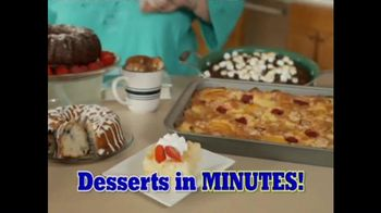 Dump Cakes Cookbook TV Spot, 'Scrumptious'