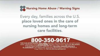 Sokolove Law TV Spot, 'Nursing Home Abuse Warning' - Thumbnail 1