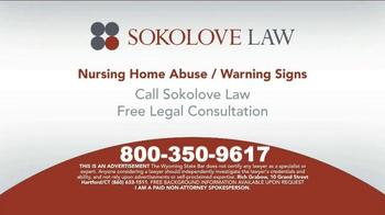 Sokolove Law TV Spot, 'Nursing Home Abuse Warning' - Thumbnail 10