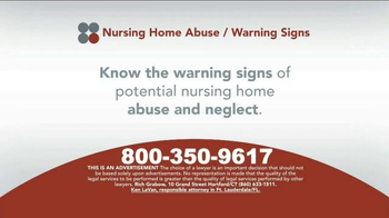 Sokolove Law TV Spot, 'Nursing Home Abuse Warning' - Thumbnail 4