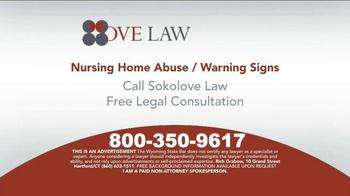 Sokolove Law TV Spot, 'Nursing Home Abuse Warning' - Thumbnail 9