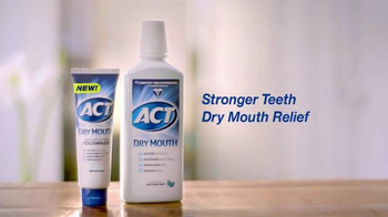ACT Dry Mouth TV Spot, 'Dry Mouth Relief' - Thumbnail 6