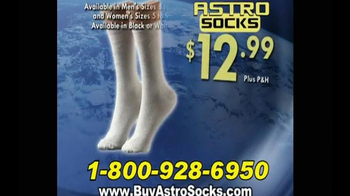 Astro Socks TV Spot, 'Keep Feet Warm and Dry' - Thumbnail 7