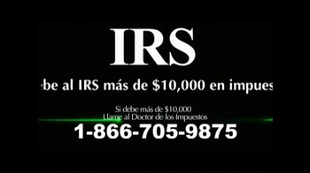 Call the Tax Doctor TV Spot, 'Impuestos Atrasados' [Spanish] - Thumbnail 1