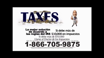 Call the Tax Doctor TV Spot, 'Impuestos Atrasados' [Spanish] - Thumbnail 7
