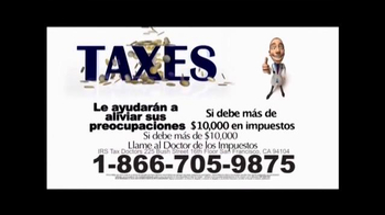 Call the Tax Doctor TV Spot, 'Impuestos Atrasados' [Spanish] - Thumbnail 8