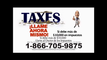Call the Tax Doctor TV Spot, \'Impuestos Atrasados\' [Spanish]