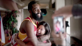 BBVA Compass TV Spot, 'NBA Numbers' Featuring James Harden - 133 commercial airings