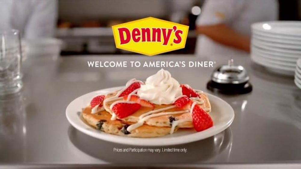 Denny's Red, White & Blue Pancakes TV Commercial, 'Founding Fathers'