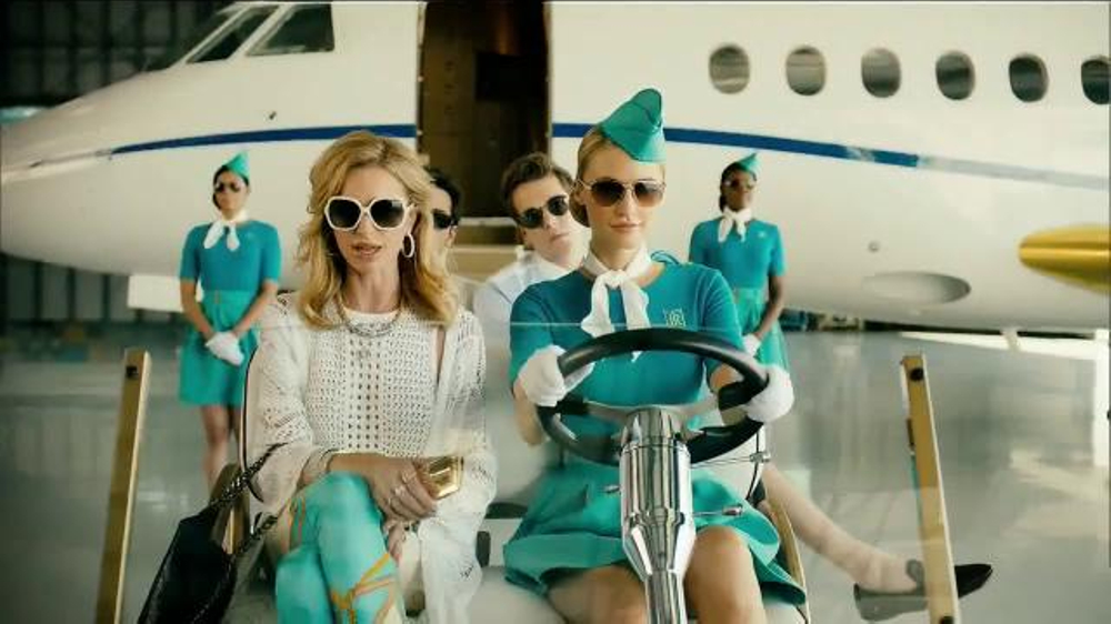 Sprint TV Commercial, 'Don't Be Too Rich to Care: Layover'