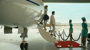 Sprint TV Spot, 'Don't Be Too Rich to Care: Layover' - Thumbnail 1
