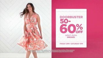 JCPenney Super Saturday Sale TV Spot, 'Shop the Day Away' - Thumbnail 6