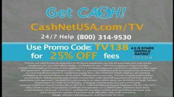 CashNetUSA TV Spot, 'Customer Testimonials' - Thumbnail 7