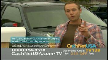 CashNetUSA TV Spot, 'Customer Testimonials' - Thumbnail 2