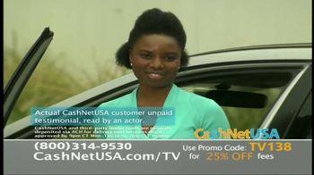 CashNetUSA TV Spot, 'Customer Testimonials' - Thumbnail 3