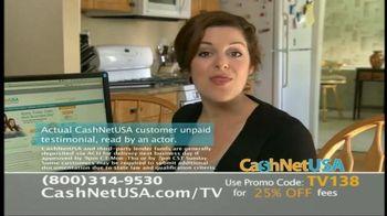 CashNetUSA TV Spot, 'Customer Testimonials' - Thumbnail 4