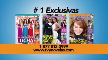 TVyNovelas TV Spot, 'Noticias Exclusivas' [Spanish]