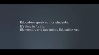 National Education Association TV Spot, 'From Educators to Congress' - Thumbnail 2