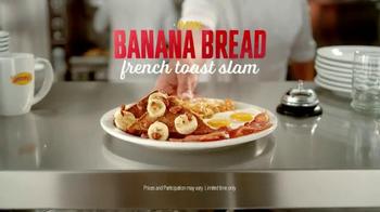 Denny's Banana Bread French Toast Slam TV Spot, 'Perfect Match' - Thumbnail 8