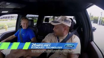 Ford Ecoboost Challenge Sales Event TV Spot, 'F-150 Power' - 117 commercial airings