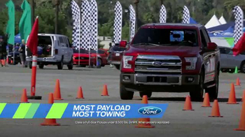 Ford Ecoboost Challenge Sales Event TV Spot, 'F-150 Power' - Thumbnail 4