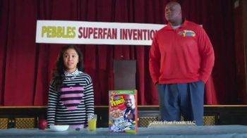 Fruity Pebbles TV Spot, \'Pebbles Superfan Invention Playoffs\'