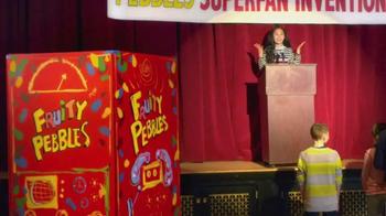 Fruity Pebbles TV Spot, 'Pebbles Superfan Invention Playoffs' - Thumbnail 1