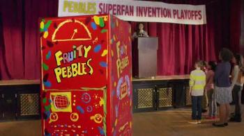 Fruity Pebbles TV Spot, 'Pebbles Superfan Invention Playoffs' - Thumbnail 2