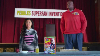 Fruity Pebbles TV Spot, 'Pebbles Superfan Invention Playoffs' - 836 commercial airings