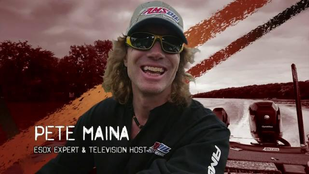 Amsoil HP Marine TV Commercial, 'Slightest Change' Featuring Pete Maina