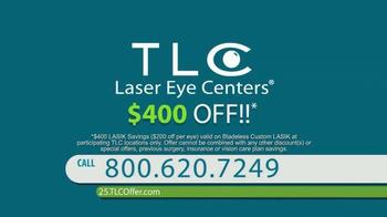 TLC Vision Laser Eye Surgery TV Spot, 'No Clue' - Thumbnail 10