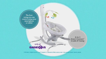 Fisher Price Smart Connect Cradle N' Swing TV Spot, 'Sooth from a Distance' - Thumbnail 10