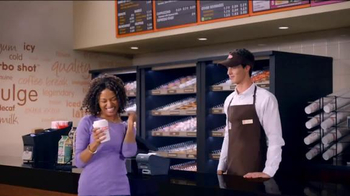 Dunkin' Donuts Ice Cream Flavored Coffees & Lattes TV Spot, 'We All Scream' - Thumbnail 6