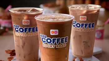 Dunkin' Donuts Ice Cream Flavored Coffees & Lattes TV Spot, 'We All Scream' - Thumbnail 9