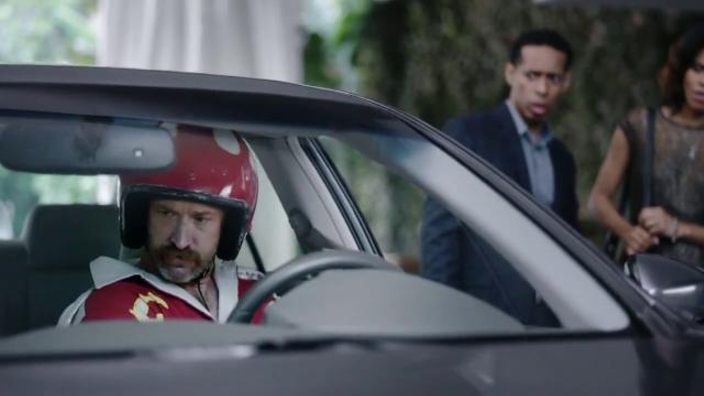 ESURANCE COMMERCIAL STUNT WINDOWS DRIVER