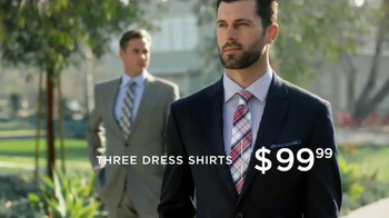 Men's Wearhouse Total Style Event TV Spot, 'Suits, Dress Shirts and BOGO' - Thumbnail 4