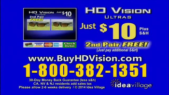 HD Vision Ultras TV Spot, 'Color and Clarity' - Thumbnail 9