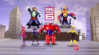 Big Hero 6 Action Figures TV Spot, 'Heroes of All Sizes'