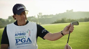 KPMG TV Spot, 'The Bet' Ft. Phil Mickelson, Stacy Lewis - 170 commercial airings