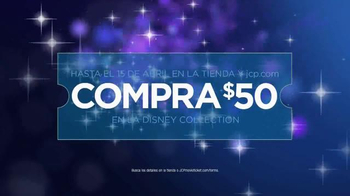 JCPenney TV Spot, 'Tu Destino para Cinderella y Disney: Vale' [Spanish] - 132 commercial airings