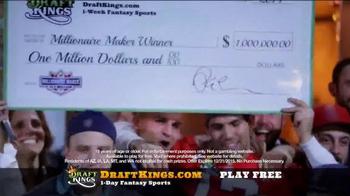 DraftKings Fantasy Golf TV Spot, 'Millionaire Maker' - Thumbnail 4