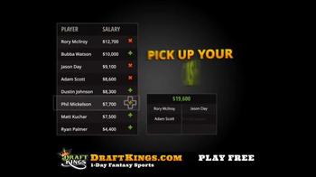 DraftKings Fantasy Golf TV Spot, 'Millionaire Maker' - Thumbnail 5