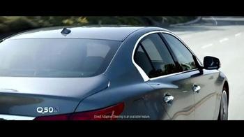 2015 Infiniti Q50 TV Spot, 'Driver's Seat' - Thumbnail 9