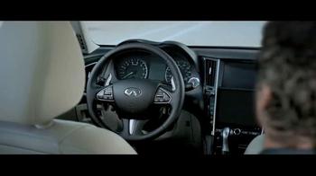 2015 Infiniti Q50 TV Spot, 'Driver's Seat' - Thumbnail 2
