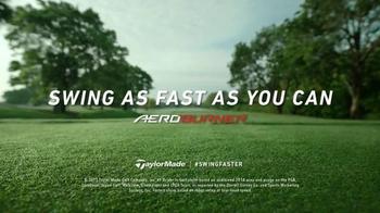 TaylorMade AeroBurner TV Spot, 'Swing Faster' Featuring Dustin Johnson - Thumbnail 10