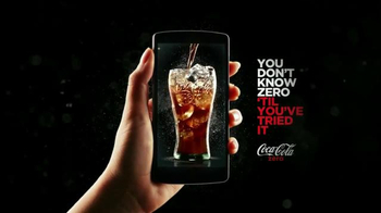 Coca-Cola Zero TV Spot, 'Drinkable Commercial' - Thumbnail 8